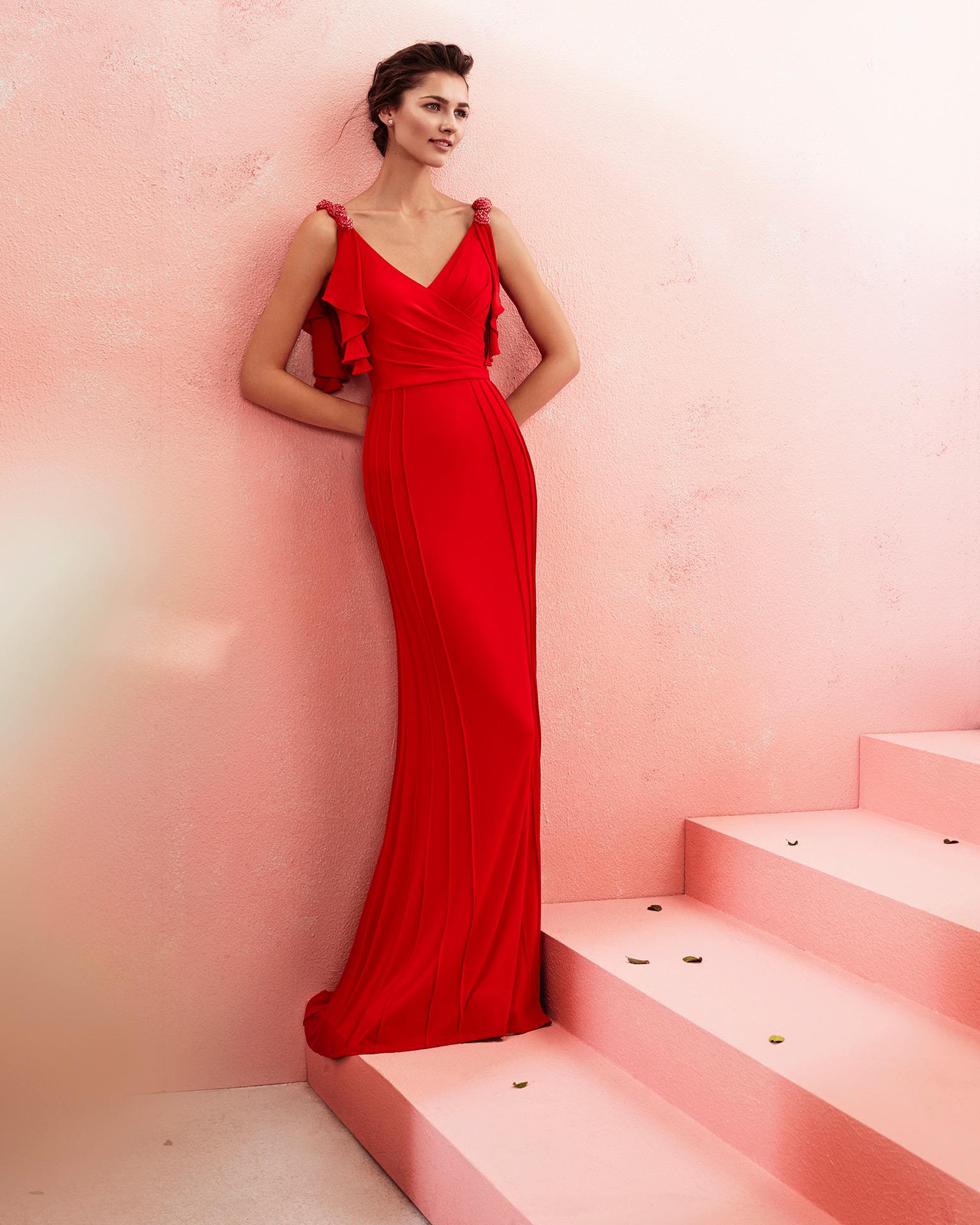 Perfecto Vestido Rojo Y Plata Prom Ilustración - Ideas de Vestido ...