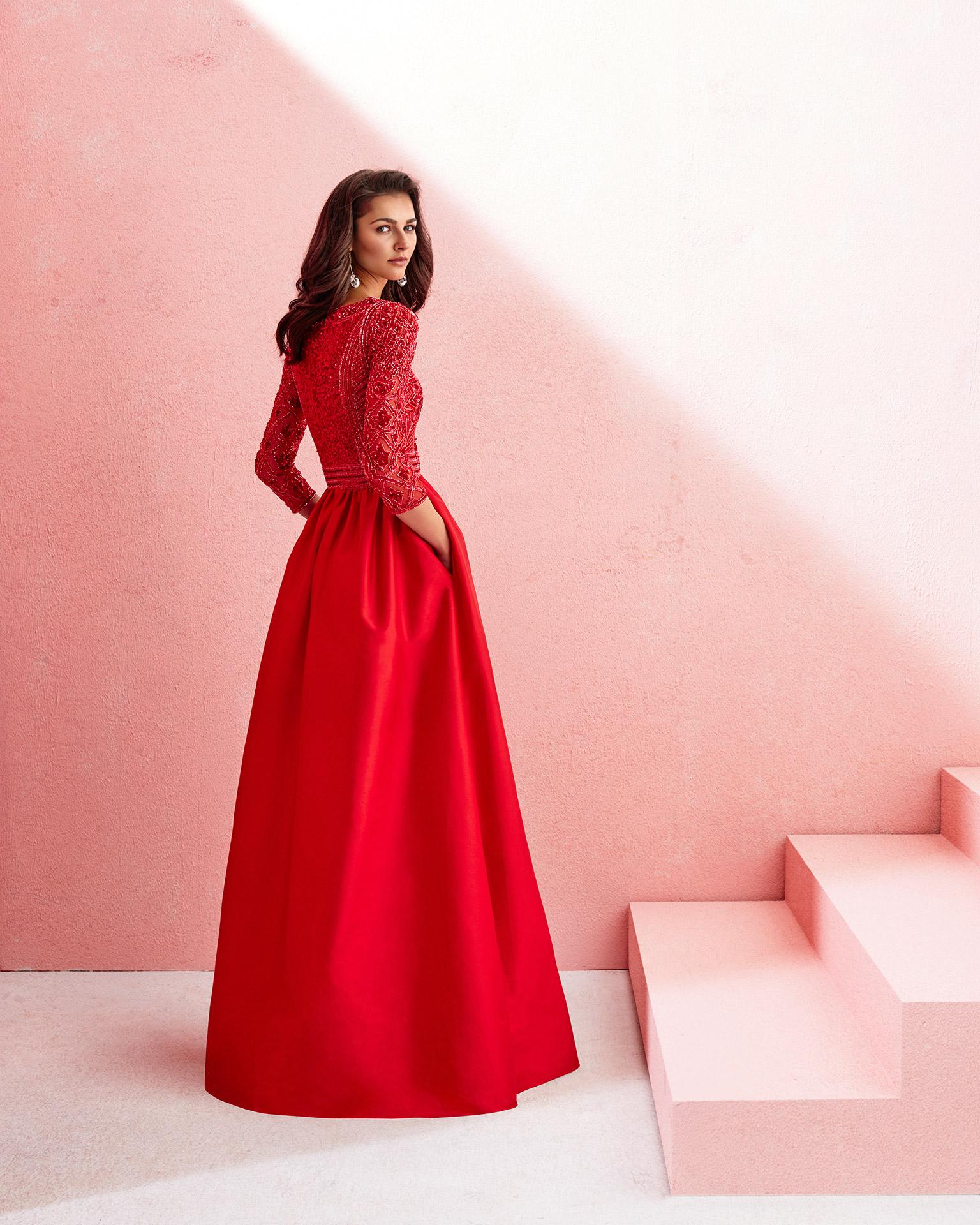 Dorable Roja Del Baile De Vestido Largo Colección - Colección de ...