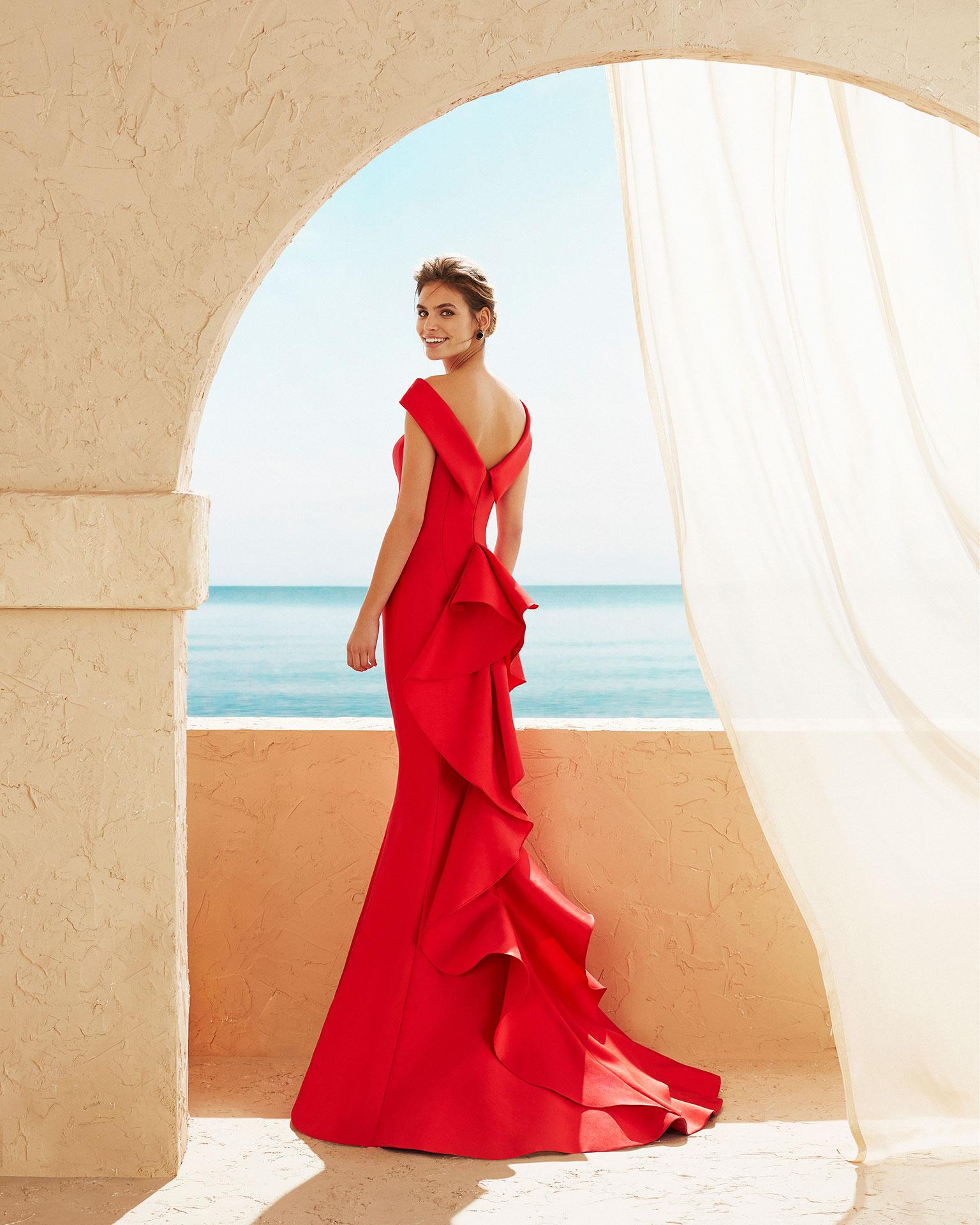 Vestido rojo largo barcelona