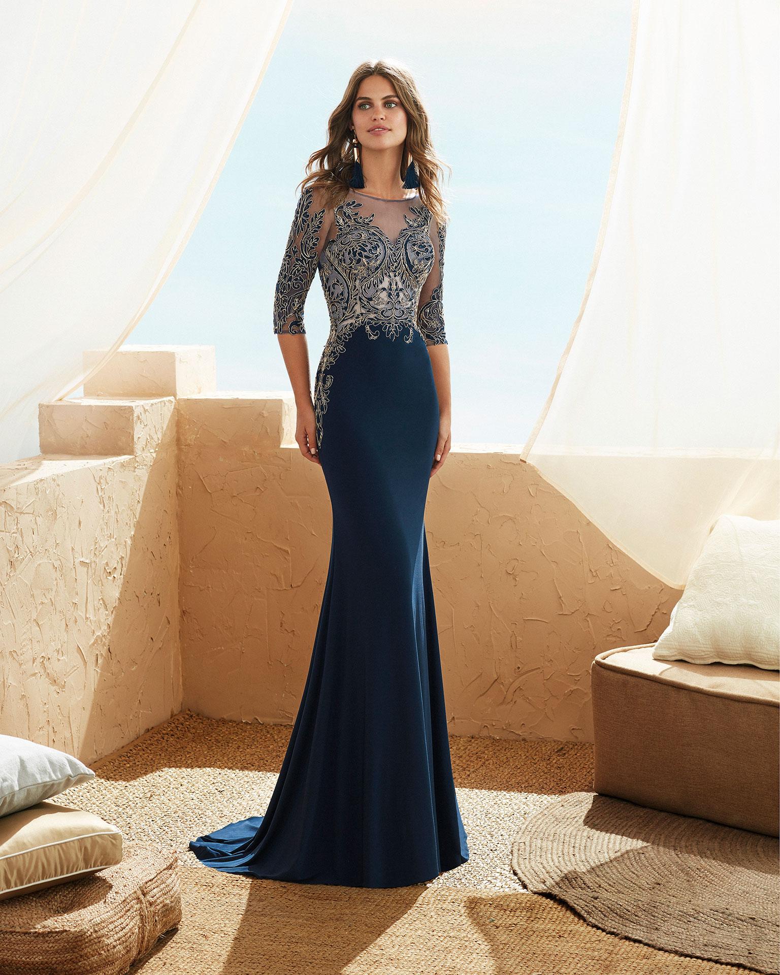 Vestidos de fiesta coral 2019